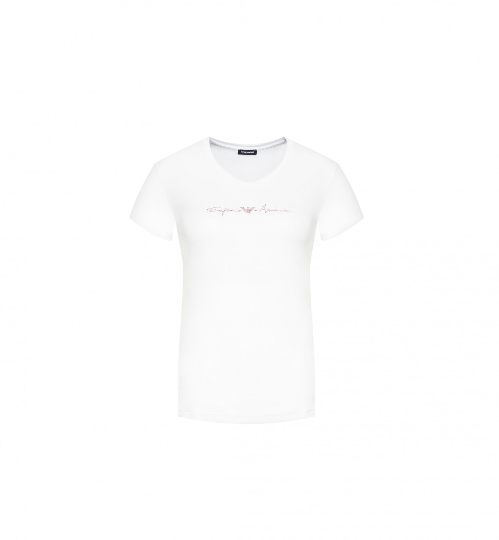 Emporio Armani dámské bílé tričko