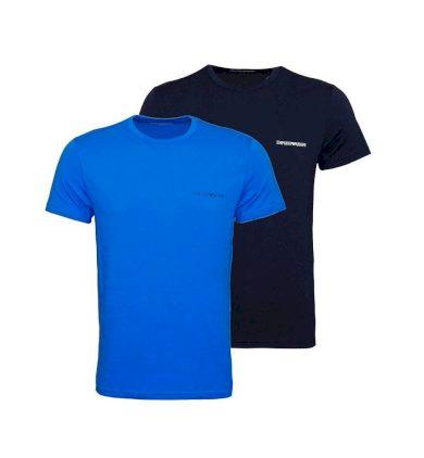 EMPORIO ARMANI pánské tričko 2 ks - tmavě modré