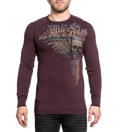 Affliction pánské tričko ROCK SPEED