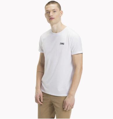 TOMMY HILFIGER pánské bílé tričko