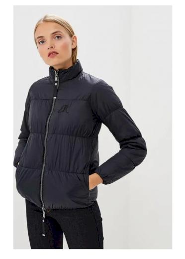 Emporio Armani dámská oboustranná bunda černá a tmavě modrá