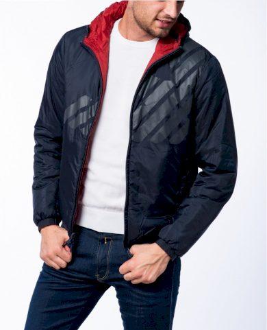 Emporio Armani pánská podzimní/ zimní bunda oboustranná