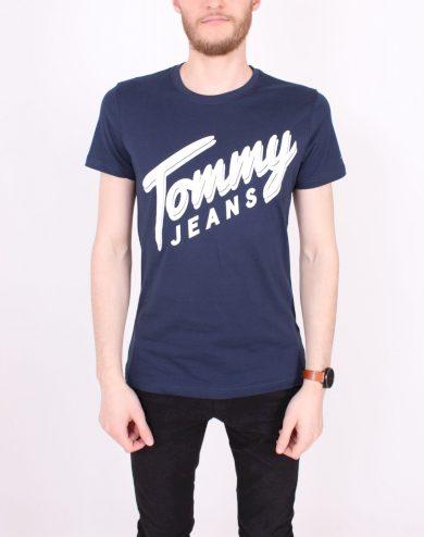 TOMMY HILFIGER pánské tmavě modré tričko
