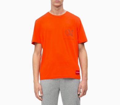 Calvin Klein pánské tričko oranžové