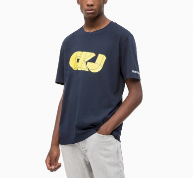 Calvin Klein pánské tričko tmavě modré