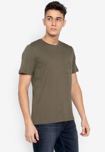 Calvin Klein pánské tričko zelené