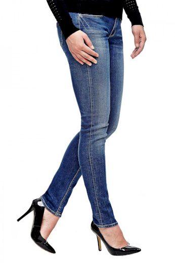 GUESS dámské světle modré džíny