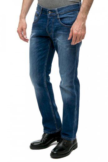 GUESS pánské tmavě modré džíny