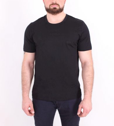 Hugo Boss pánské černé tričko