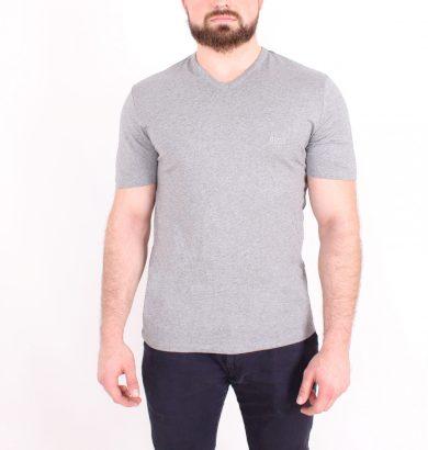 Hugo Boss pánské šedé tričko