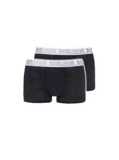 Just Cavalli pánské černé boxerky 2 ks