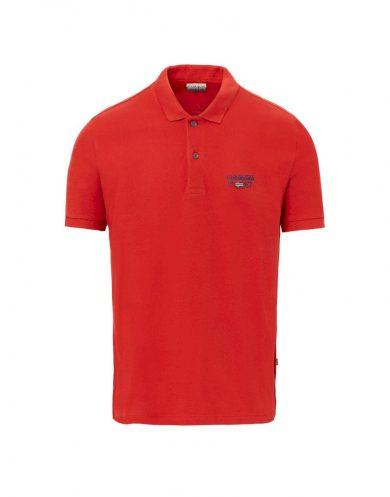 NAPAPIJRI pánské červené polo tričko