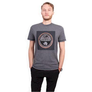NAPAPIJRI pánské tmavě šedé tričko