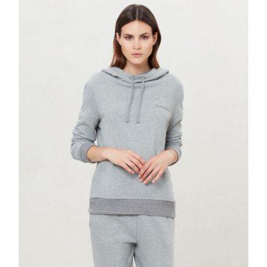 NAPAPIJRI dámská fleece šedá mikina s kapucí