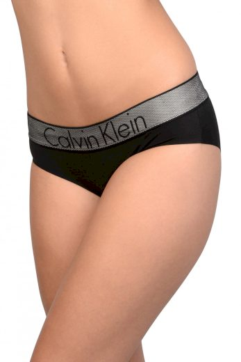 Calvin Klein dámské černé kalhotky Hipster