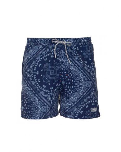 Pepe Jeans pánské modré plavky Carchi