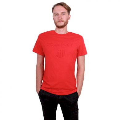 GANT pánské červené tričko