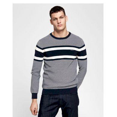 GANT pánský tmavě modrý svetr