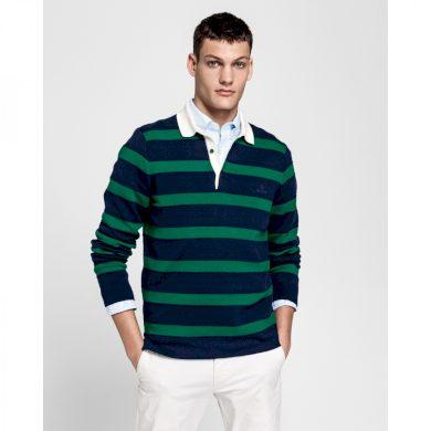 GANT pánský zelený svetr