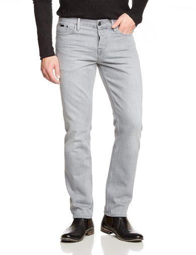 Calvin Klein pánské šedé denim džíny