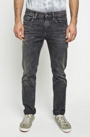 Calvin Klein pánské černé denim džíny