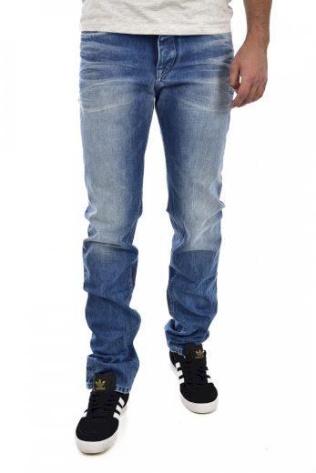 Calvin Klein pánské modré denim džíny