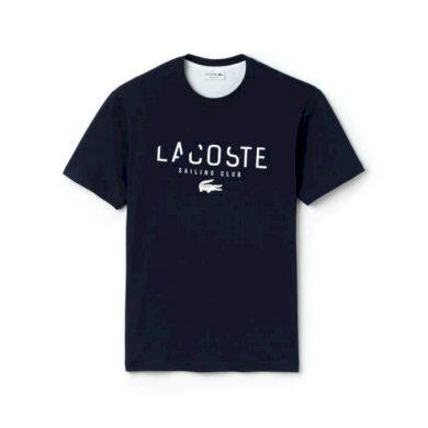 Lacoste pánské černé tričko