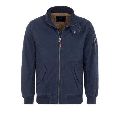 Pepe Jeans pánská tmavě modrá zimní bunda KNIGHTSBRIDGE
