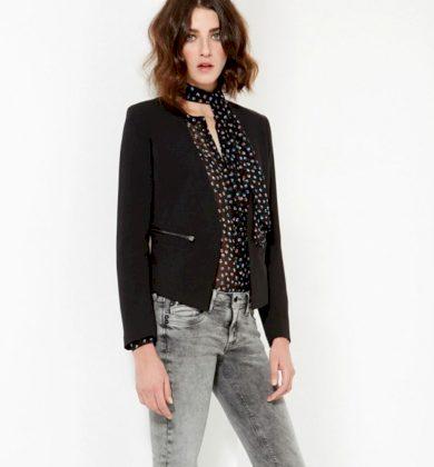 Pepe Jeans dámský černý blejzr