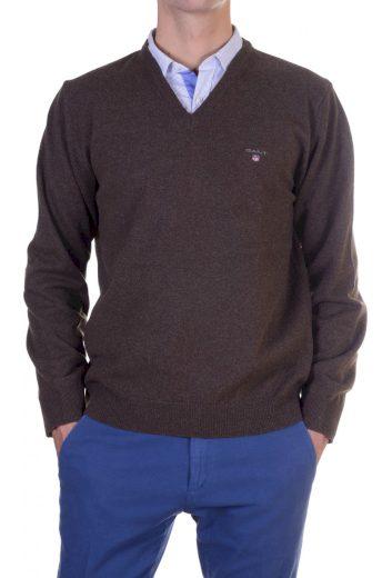 GANT pánský hnědý svetr