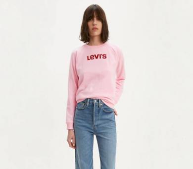 Levi's dámská růžová mikina