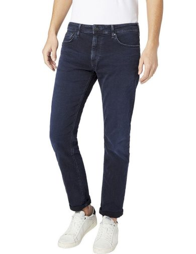 Pepe Jeans pánské tmavě modré džíny Stanley