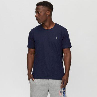 Ralph Lauren pánské tmavě modré tričko