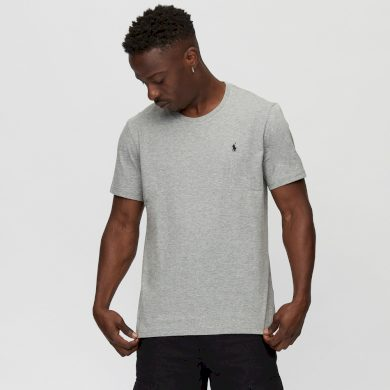 Ralph Lauren pánské šedé tričko