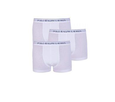 Polo Ralph Lauren pánské bílé boxerky 3 kusy v balení