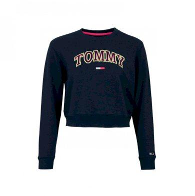 Tommy Jeans tmavě modrá krátká mikina