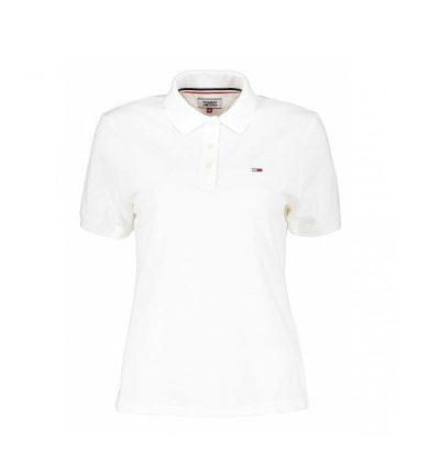 Tommy Hilfiger dámské bílé polo tričko