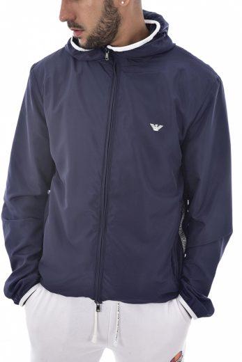 Emporio Armani pánská lehká tmavě modrá bunda