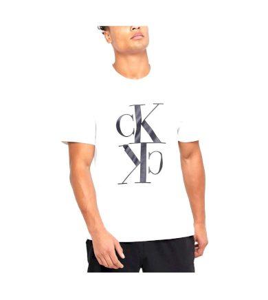Calvin Klein pánské bílé tričko