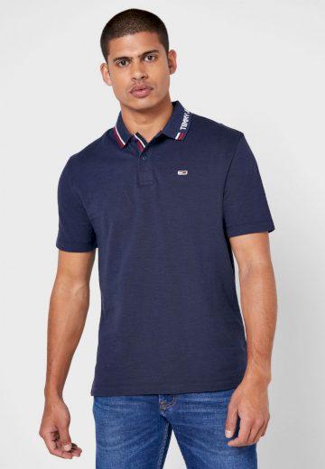 Tommy Jeans tmavě modré polo tričko