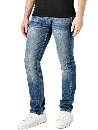 GUESS pánské modré denim džíny