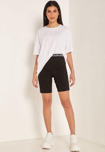 Calvin Klein dámské černé sportovní kraťasy MILANO CYCLING SHORT