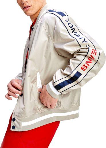 Tommy Jeans pánský oboustranný bomber Tjm Revesible Bomber