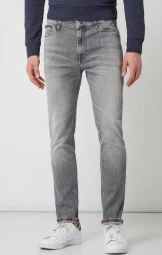 TOMMY HILFIGER pánské šedé džíny SIMON SKINNY