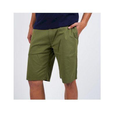 Tommy Jeans pánské zelené kraťasy DOBBY CHINO SHORT