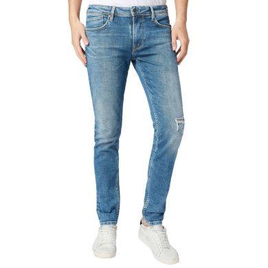Pepe Jeans pánské světle modré džíny FINSBURY
