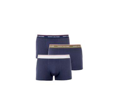 Tommy Hilfiger pánské tmavě modré boxerky   3 ks