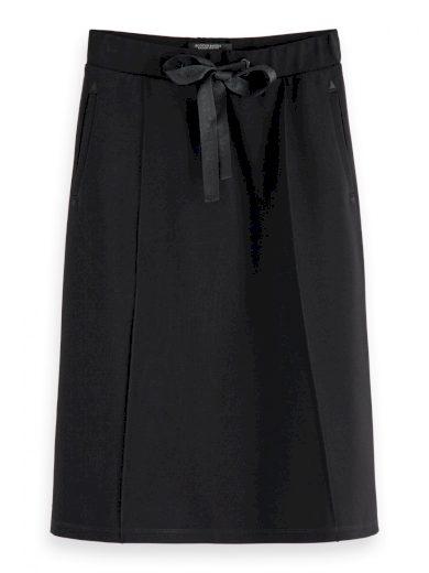 SCOTCH & SODA dámská delší černá sukně