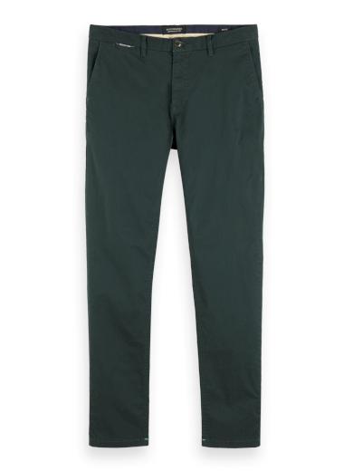 SCOTCH & SODA pánské zelené kalhoty