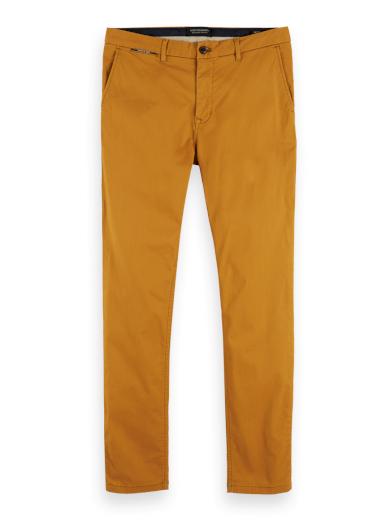 SCOTCH & SODA pánské tmavě žluté kalhoty
